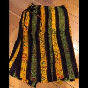 Dresses & Skirts - TieDye Wrap Around Skirt